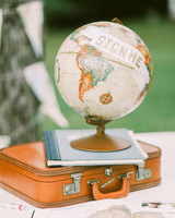 globe use as guest book