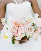 anwuli patrick wedding bouquet