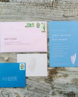 ashley basil wedding invitation suite