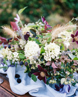 berry wedding ideas megan robinson blackberry centerpiece