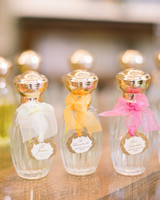 custom perfume bottle bridal party gifts