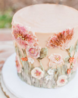 bridal shower Mediterranean cake