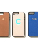 leatherology monogrammed phone case