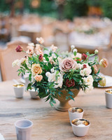 brooke dalton wedding floral centerpiece