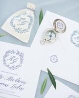 compass wedding ideas nautical favor