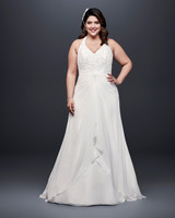 david bridal wedding dress spring 2019 halter a-line