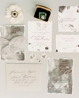 deckle edge invitations lisa blume