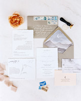 envelope invites carmen santorelli