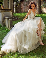 eve of milady spaghetti strap sweetheart wedding dress fall 2018