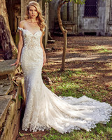 eve of milady off-the-shoulder trumpet wedding dress fall 2018