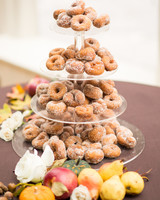 Cider donut tower
