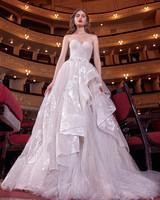 galia lahav strapless ruffle ballgown wedding dress spring 2020