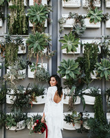 green wedding ideas jessie schultz backdrop