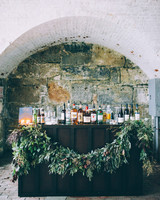 wedding bar stone