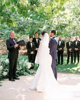 katie mike wedding ceremony couple
