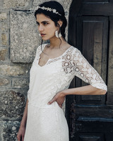 Laure de Sagazan lace Wedding Dress Spring 2018