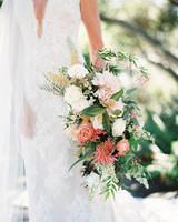 laurie michael wedding brides bouquet