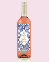 maid of honor proposal speak wine rose
