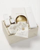 perfume and gift box