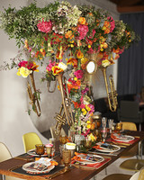 Trumpet Floral Centerpiece