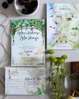 postcard invites madeleine kroeger