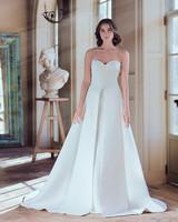 sareh nouri wedding dress spring 2019 sweatheart a-line pleats