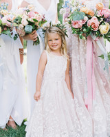 shelby preston wedding flower girl