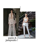 Spring 2019 Bridal Fashion Week Pants and Jumpsuits Trend