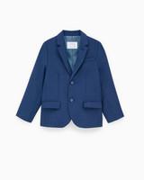 Zara Patterned Textured Weave Blazer