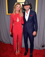 Tim McGraw and Faith Hill at 2017 Grammy Awards