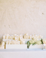 Wedding Flower Petal Bar, White Bags of Petals