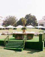 ashlie adam alpert wedding bar outdoors