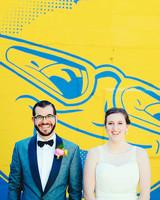 becca zac wedding couple