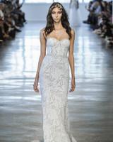 Berta Embellished Sweetheart Wedding Dress Fall 2018