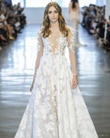 Berta Floral A-Line Wedding Dress Fall 2018