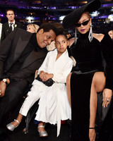 Beyonce Jay-Z and Blue Ivy Grammys 2018