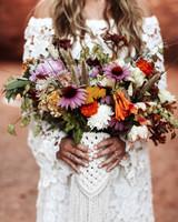 bouquet wraps flowers crochet