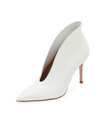 white bridal booties gianvito rossi napa heel