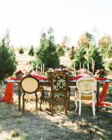 table christmas tree farm