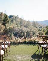 cristina chris wedding ceremony outdoor site