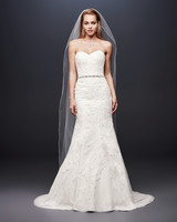 david bridal wedding dress spring 2019 trumpet lace sweatheart
