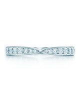 Tiffany & Co. Bead-Set Ring