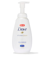 dove deep moisture shower foam
