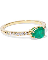 east west engagement rings antia ko emerald