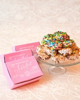 73 edible wedding favors guests will eat up literally martha donut favors junglespirit Choice Image
