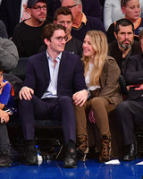 ellie goulding and casper jopling at sporting event