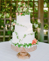 floral wedding cakes jeanni dunagan garden greenery
