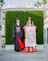 grace ceron wedding couple korean attire