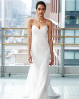 gracy accad wedding dress spring 2019 spaghetti straps sweat heart sheath