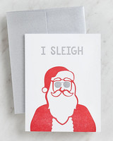 holiday cards i sleigh paper source